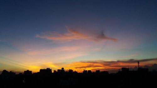 sun set yellow sun set sun