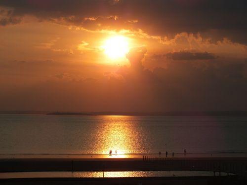 sun set sun setting