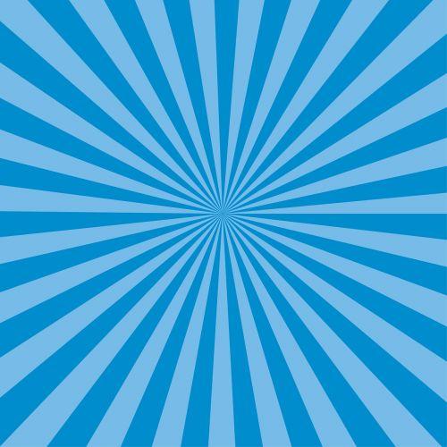 sunburst blue rays