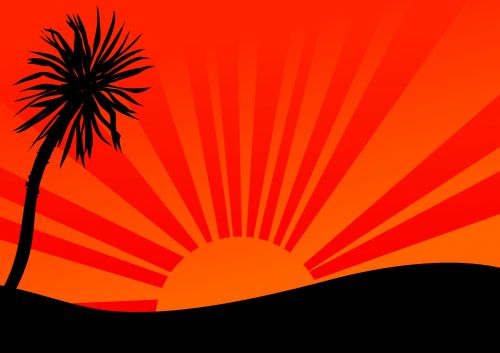 Sunburst Backdrop