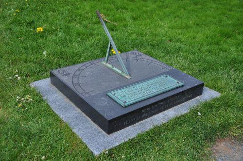 sundial halifax public gardens