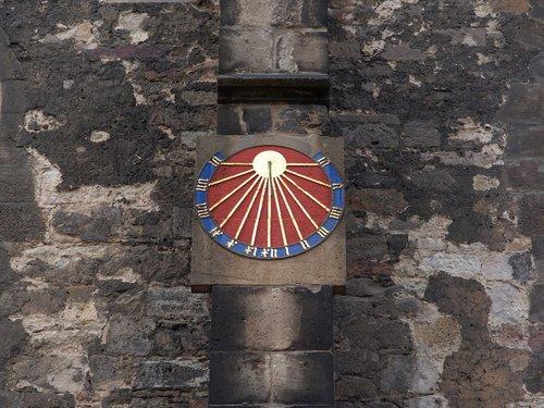 sundial  clock  time of