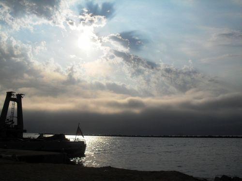 Sundown Over Walvis Bay