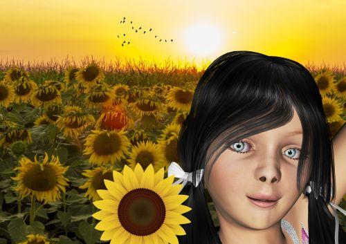 sunflower child hope