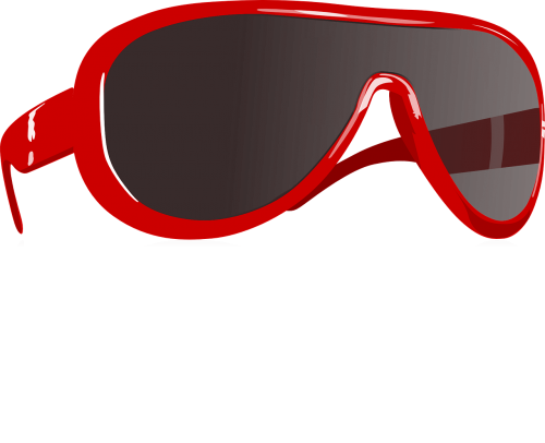sunglasses glasses red