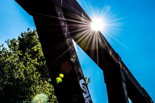 sunlight  solar flare  bridge