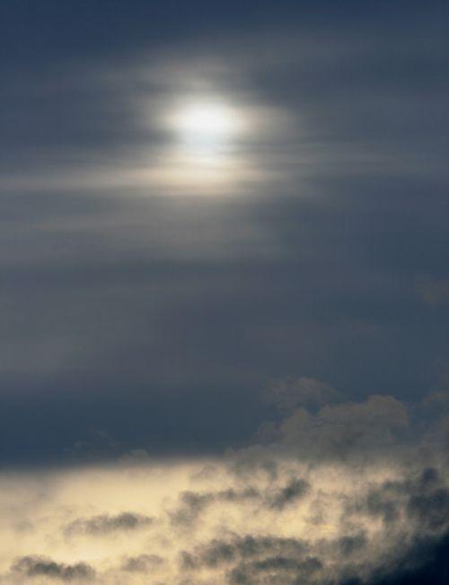 Sunlight Penetrating Clouds