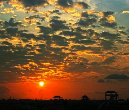 saulėtekis, aušra, da & nbsp, nang, Vietnamas, amateurpic, saulėtekis # 10