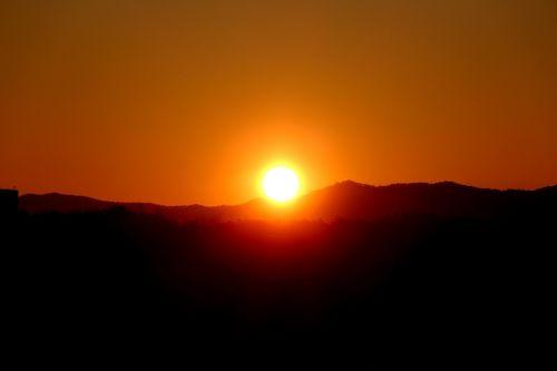 sunrise sky solar