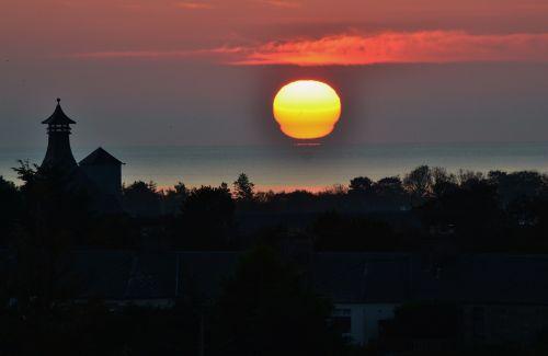 sunrise scotland brora