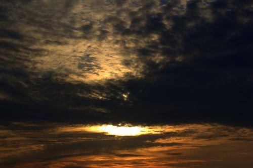 sunrise sun morgenrot