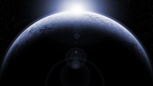 planet moon globe