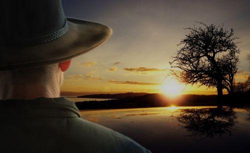 sunrise landscape bushman
