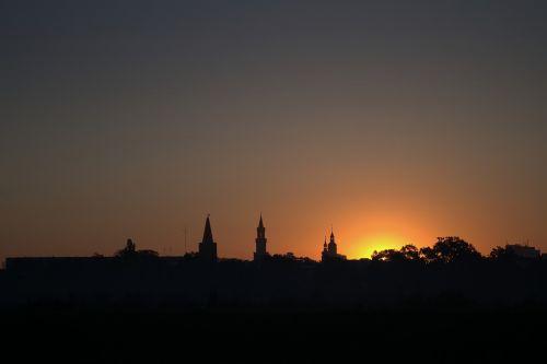 sunrise opole city