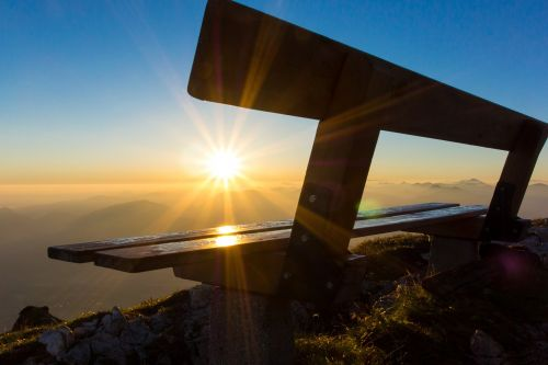 sunrise mountain morning