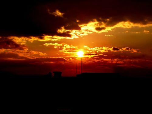 sunrise sun golden