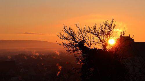 sunrise bamberg landscape