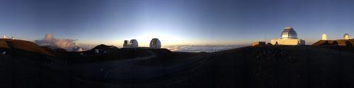 sunrise panorama hawaii