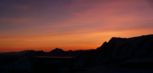 sunrise national park high tauern