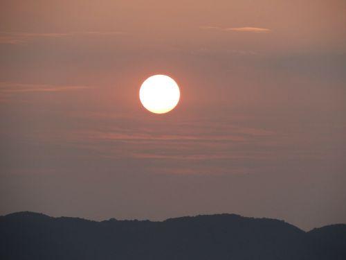 sunrise morning landscape