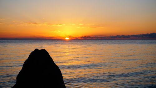 sunrise scenery font font 山水 font font