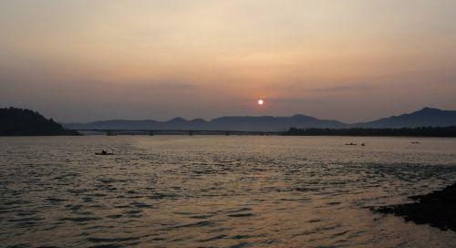 sunrise western ghats mountains