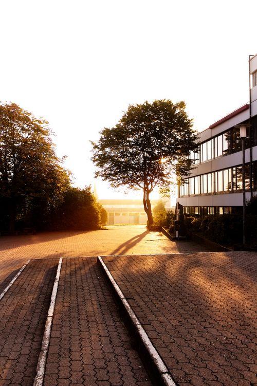 sunrise school schoolyard