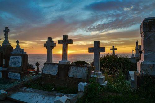 sunrise cemetery cross