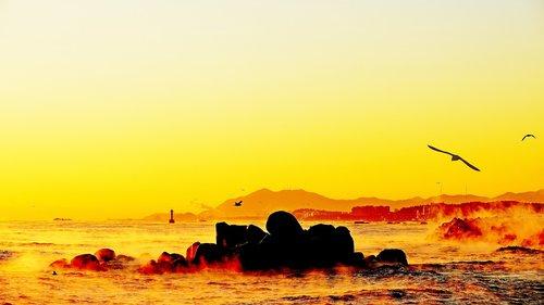 sunrise  dawn  heaven