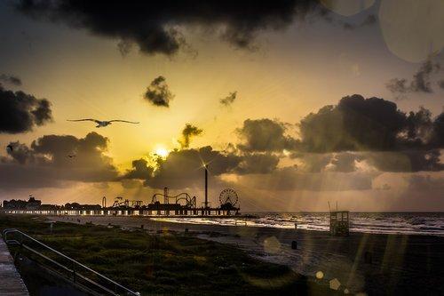 sunrise  sun  light