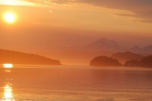 sunrise  islands  lopez island
