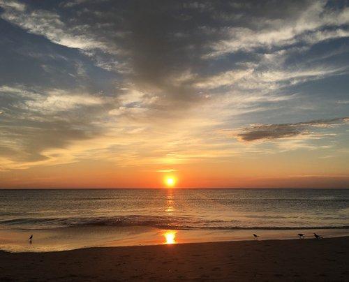 sunrise  north carolina  corolla beach