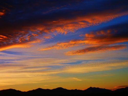 saulėtekis,kraštovaizdis,Arizona