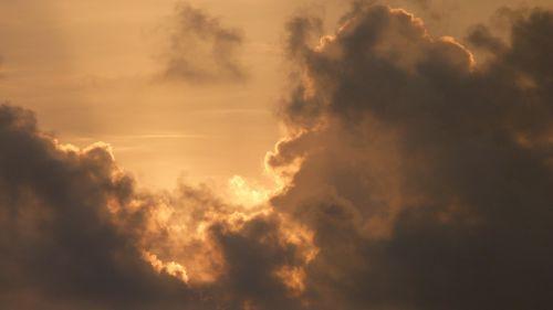 sunrise skies sky
