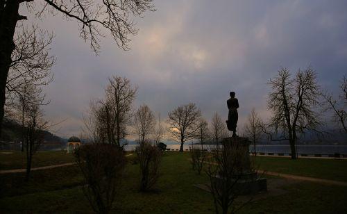 sunrise landscape park