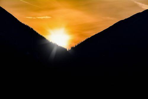 sunrise morning sky