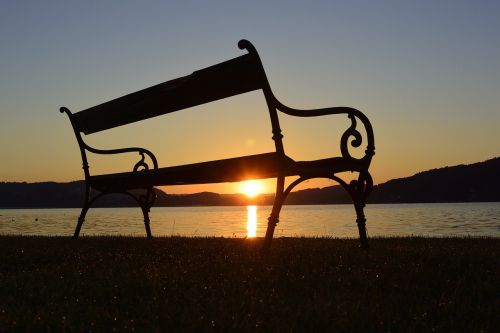 sunrise lake morgenstimmung