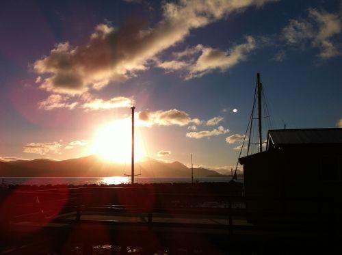 sunrise vancouver island british columbia
