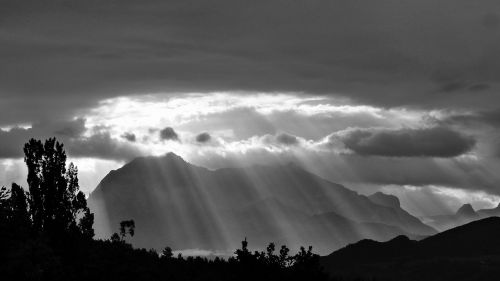 sun's rays rays landscapes