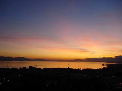 sunset sun twilight