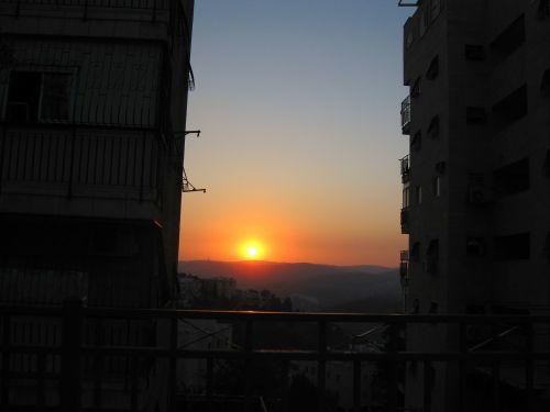 sunset quiet calming
