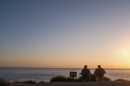 sunset soul mates beach