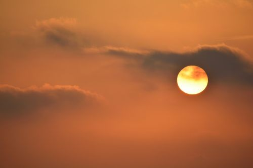 sunset orange backlight