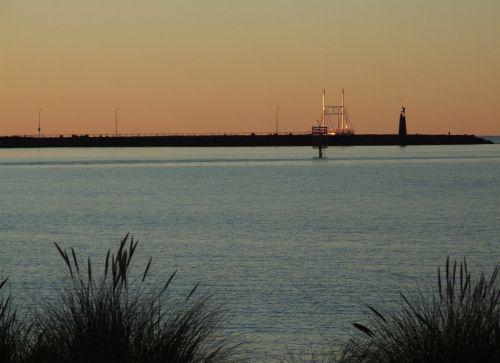 sunset devonport tasmania australia