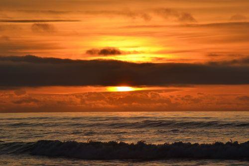 sunset beautiful serene