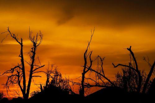 sunset oklahoma tornado damage