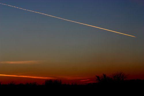 saulėlydis,raketos,dangus,dara,dažymas,skraidantis,lėktuvai,transliacijos