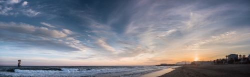 sunset cable beach marbella