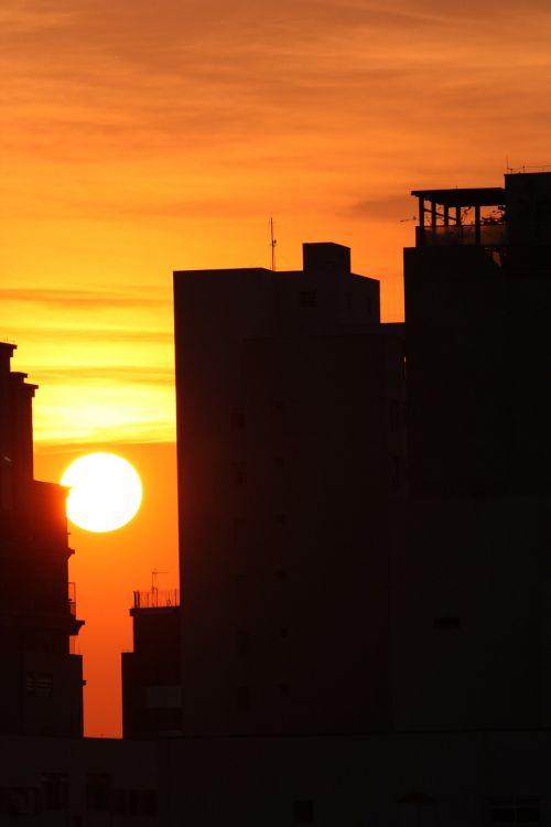 sunset city sao paulo