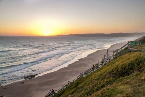 saulėlydis,papludimys,paplūdimio vakaras,dangus,atostogos,kranto,vakaras,horizontas